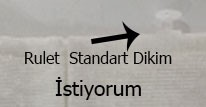 Standart Dikim(Ücretsiz)
